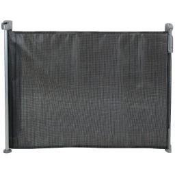 Kidco g2501 black kidco retractable safeway mesh mounted gate black 55 x 1 x 33.5
