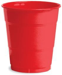 Plastic Cups 12oz 20/Pkg-Classic Red PC-1031