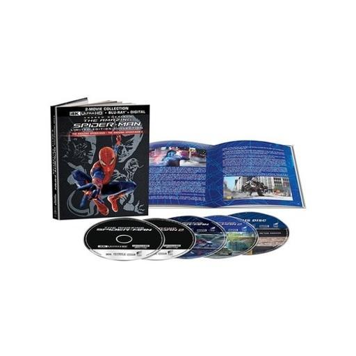 Amazing spiderman/amazing spider-man 2 gift set (blu ray/4k-uhd/uv) XCULWZU9VY2XPF8V