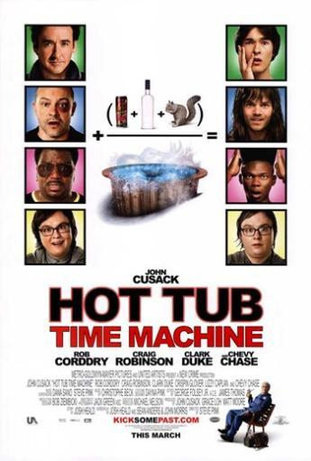 Hot Tub Time Machine - style A Movie Poster (11 x 17)