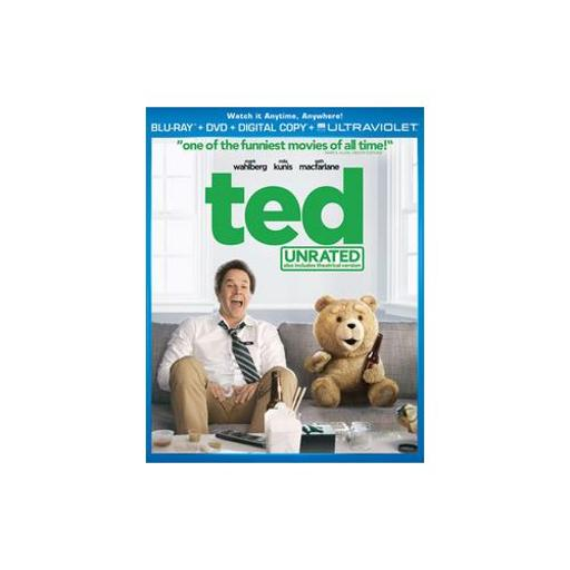 TED BLU RAY/DVD COMBO PACK W/DIGITAL COPY & UV (2DISCS/ENG SDH/SPAN/FRE/WS) 31124028D4CAC6FC