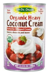 Let's Do...Organic - Organic Non-Dairy Heavy Coconut Cream - 13.5 fl. oz.