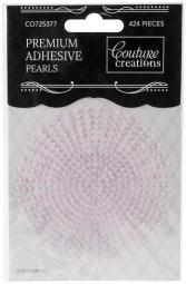 Couture Creations Self-Adhesive Pearls 2mm 424/Pkg Soft Purple