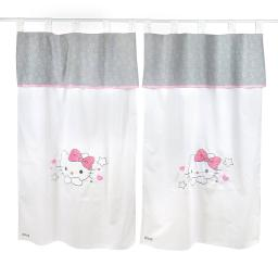 Hello Kitty StarsCrib Bedding Accessory - Window Curtain