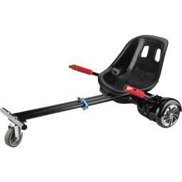 Worryfree gadgets hd-kart-red adjustable heavyduty hoverkart