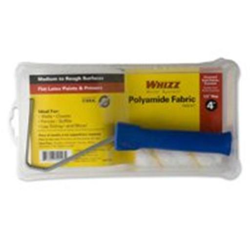 Whizz 54118 4 In. Gold Stripe Roller And Pan Set