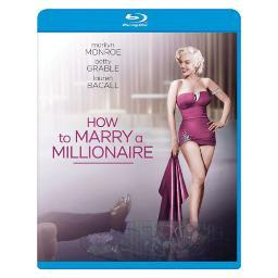 How to marry a millionaire (blu-ray/ws-2.55/eng-fr-sp sub) BR2281710