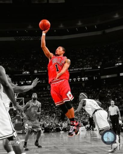 Derrick Rose - 2009 Spotlight Collection Photo Print PSTXJUOIHO6MCHJW