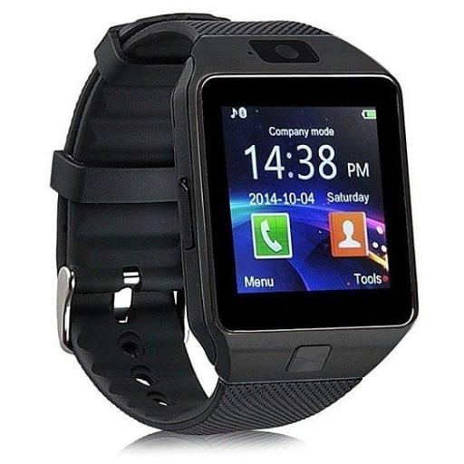 Bluetooth Smart Watch Phone + Camera SIM Card For Android IOS Phones