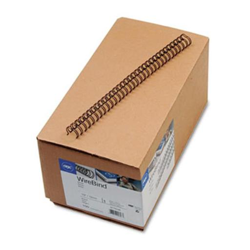 Swingline 9775028 WireBind Spines, .5 in. Diameter, 100 Sheet Capacity, Black, 100-Box