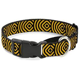 "Buckle-Down ""Square Target"" Martingale Dog Collar"