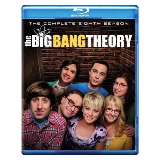 Big bang theory-complete 8th season (blu-ray/dvd/uv/5 disc) 1292716