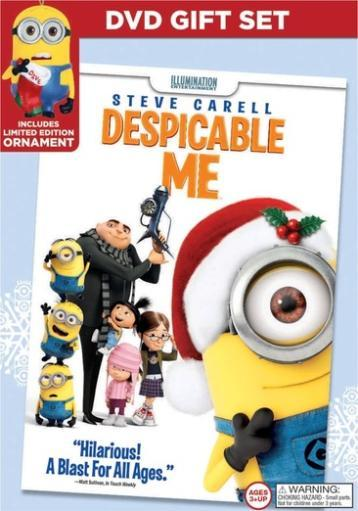 Despicable me (dvd) (limited edition holiday gift set)