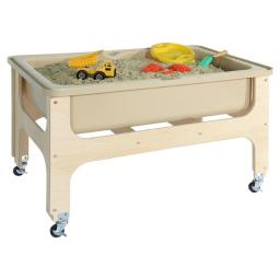 Wood Designs 11876TN Tot Size Deluxe Sand & Water Table without Lid