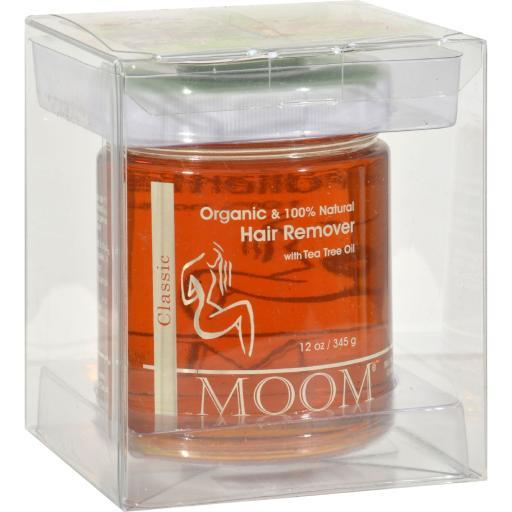 Moom Organic Hair Removal With Tea Tree Refill Jar - 12 oz TW2U4QQLCEPREGF6