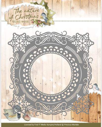 Find It Trading Precious Marieke The Nature Of Christmas Die Christmas Snowflake Frame