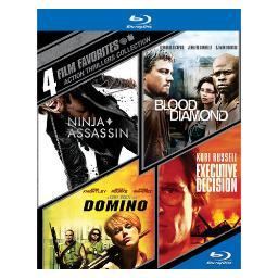 4 film favorites-action thrillers (blu-ray/4 disc) BR427535