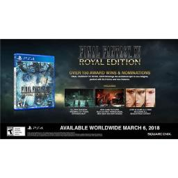 Square Enix 92076 Final Fantasy XV Royal Edition - PS4 for, Black