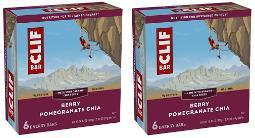 Clif Energy Bars Berry Pomegranate Chia 2 Box Pack