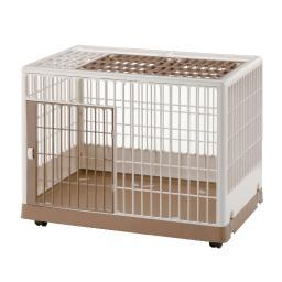 Richell 94604 White / Mocha Richell Pet Training Kennel Pk-830 White / Mocha 32.5 X 21.7 X 24.6
