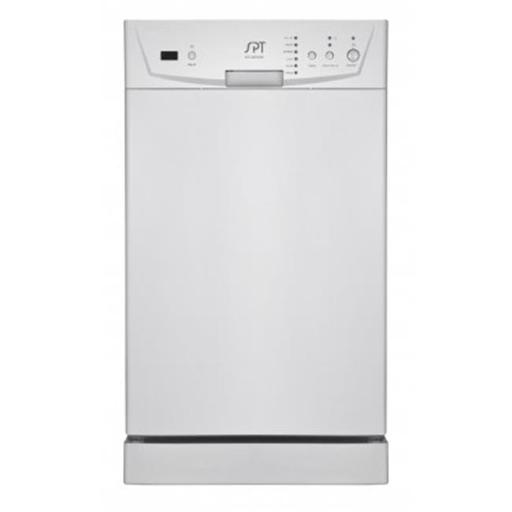 Sunpentown SD-9252W 18 in. Energy Star Built-In Dishwasher - White 68C1A6C34C56B018