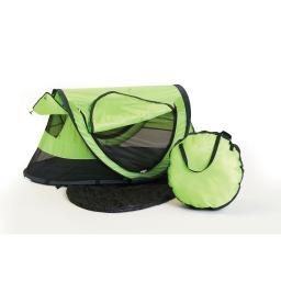 Kidco p4010 green kidco peapod plus travel bed green 52.5 x 34 x 22