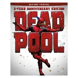 Deadpool 2-year anniversary edition (blu-ray/paper doll/stickers/tattoos) BR2348169