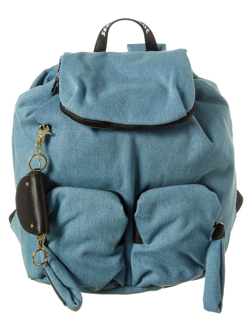 See by Chloe Joy Rider Denim Backpack