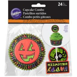 Cupcake Combo Pack 24/Pkg-Jack & Ghoul W9963