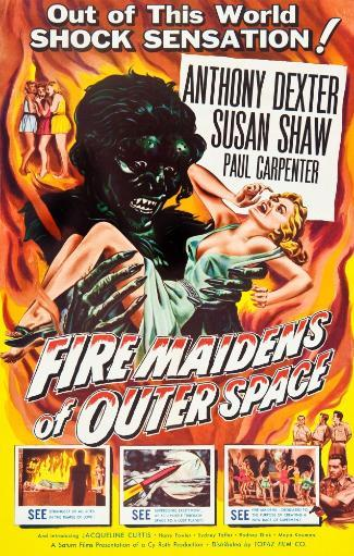 Fire Maidens Of Outer Space 1956 Movie Poster Masterprint LF2HZ6G2P1EH2GVL
