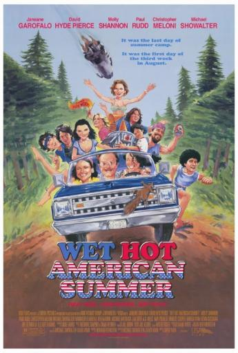 Wet Hot American Summer Movie Poster Print (27 x 40) 1021688