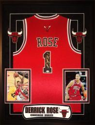 Derrick Rose - Signed Chicago Bulls NBA Basketball Jersey