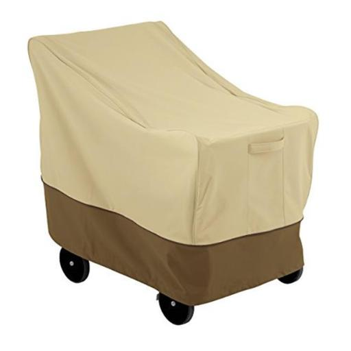 Large Bar Cart Cover Single Handle, Pebble - Case of 10