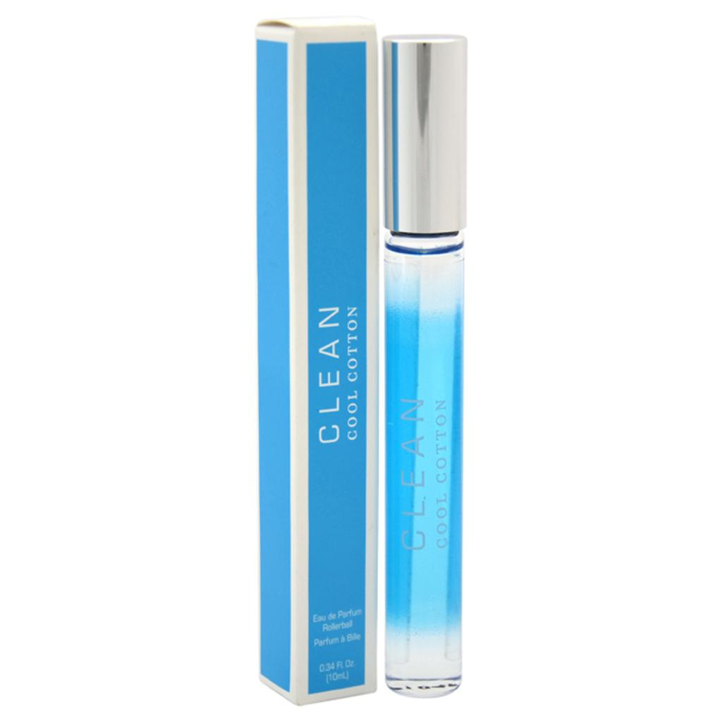 Cool Cotton By Clean For Women - 0.34 Oz Edp Rollerball (Mini)  2 X 0.17 Oz