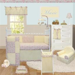 Marie Crib Bedding Set - 4 Piece