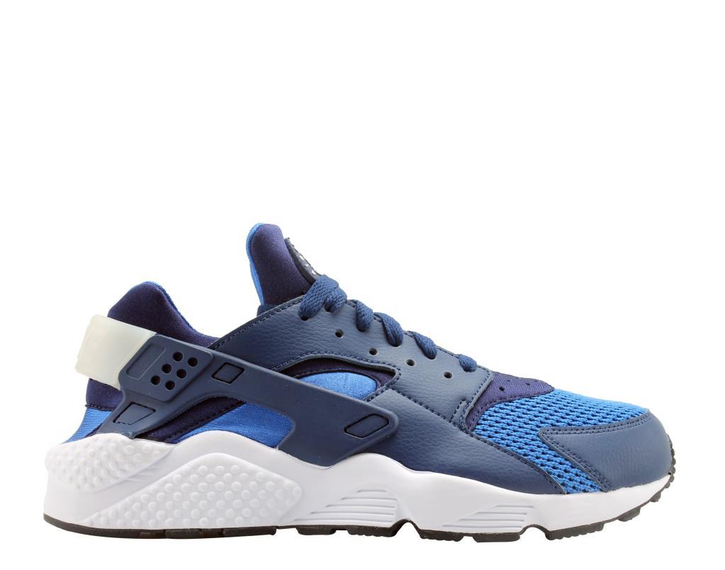 817ce97ab3ff Nike Nike Air Huarache Blue Void Blue Void-White Men s Running Shoes 318429- 421