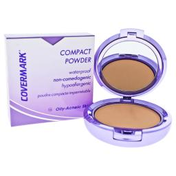 Covermark Waterproof Compact Powder For Oily-Acneic Skin, 0.35 Ounce