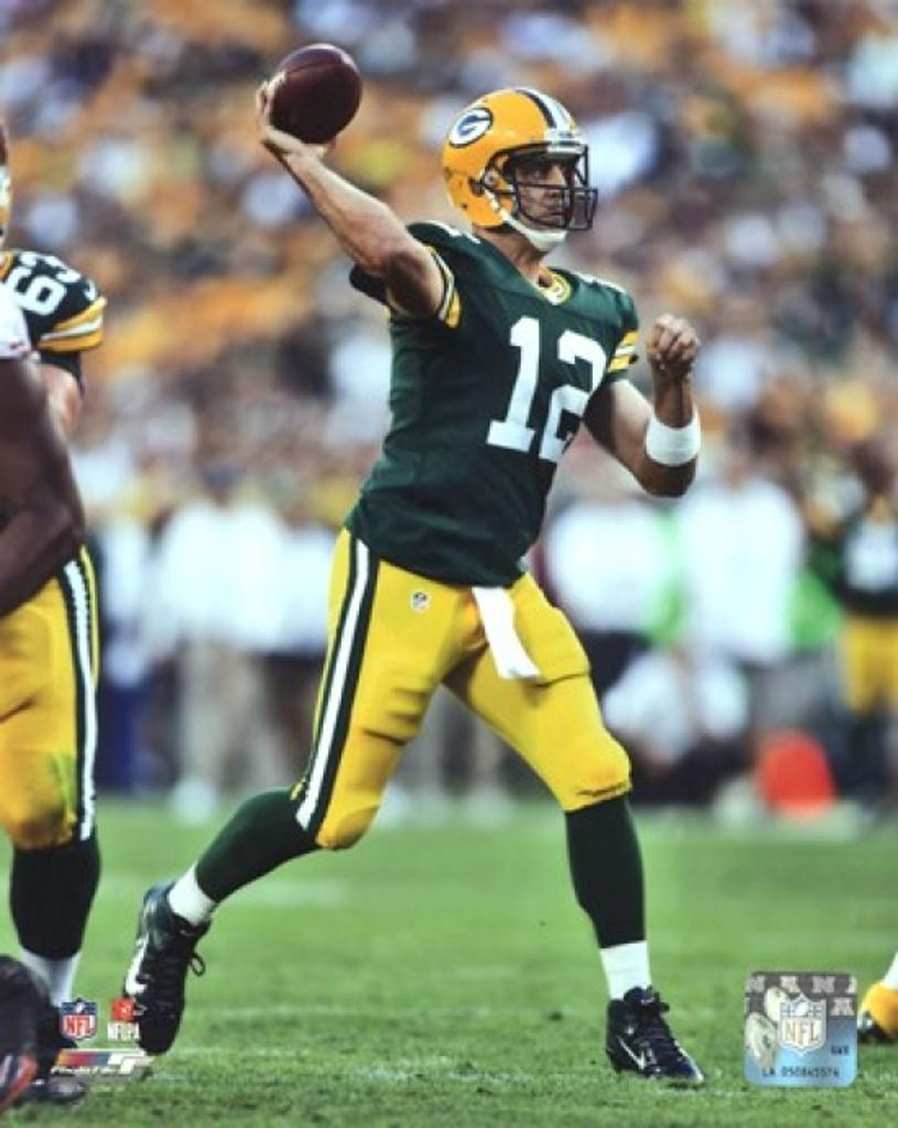 Aaron Rodgers 2012 Action Sports Photo