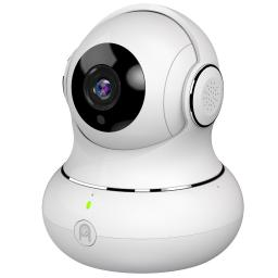 Dome Camera, 1080p HD Indoor Pan/Tilt/Zoom Wireless IP Security Surveillance System with Night Vision & Motion Tracking