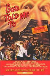 God Told Me to Movie Poster (11 x 17) MOV257552
