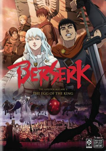 Berserk-golden age arc 1-egg of the king (dvd/ff) E8YJUMS9F7WFUYOK