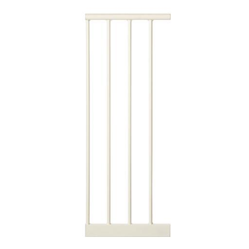 North States 4995 White North States 10.5 Inch Extension For Easy-Close Gate White 10.5 X 29