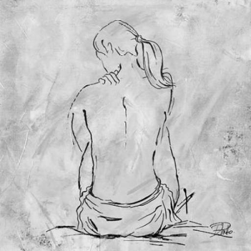Nude Sketch II Poster Print by Patricia Pinto 1060942