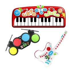 Hamilton Electronics & Buhl Industries DR24MDG Early Learners Steam Education - Do-Re-ME Music Arts Kit with Floor Piano, Electronic Drums & Electroni