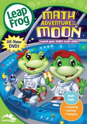 Leapfrog-math adventure to the moon (dvd) (ff/eng/2.0 dol dig)