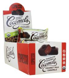 JJ's Sweets Cocomels - Dark Chocolate Covered Cocomels Espresso