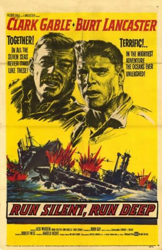 Run Silent, Run Deep Movie Poster (11 x 17) ABFPNK4JTKKKW1QA