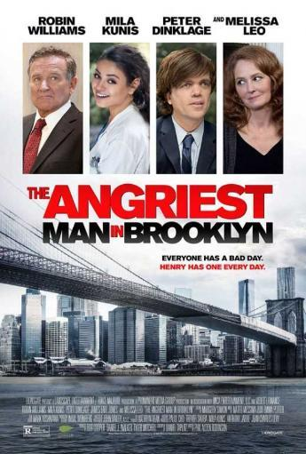 The Angriest Man in Brooklyn Movie Poster (11 x 17) G31EVN8LJAEIE4DA