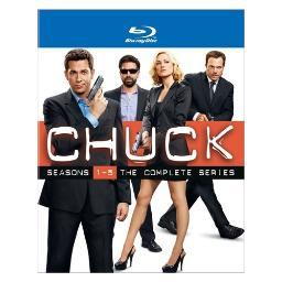 Chuck-complete series collector set (blu-ray/17 disc/ws-16x9/5pk) BR352247