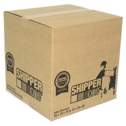 Schwarz Supply SP-896 14 x 14 x 14 in. Shipper One Shipping Box, Pack Of 25